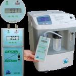Analizador de oxigeno portatil